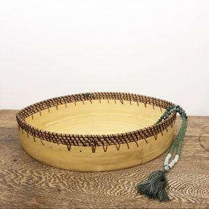 Wood Tray • Boho / Global Decor